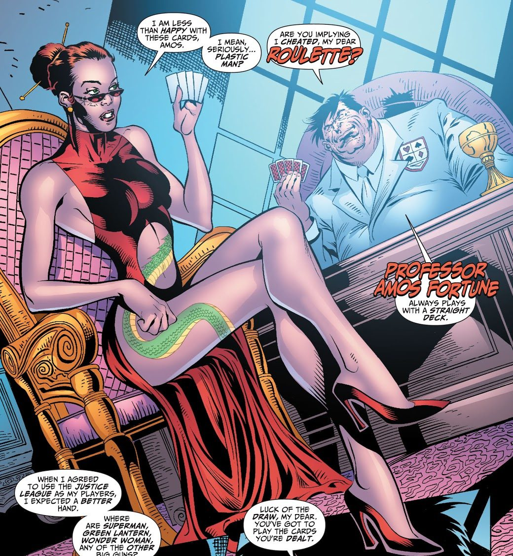 Roulette (Justice League of America Vol. 2 #35)