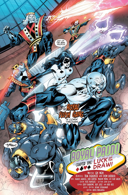 Royal Flush Gang (Justice League of America Vol. 2 #35)