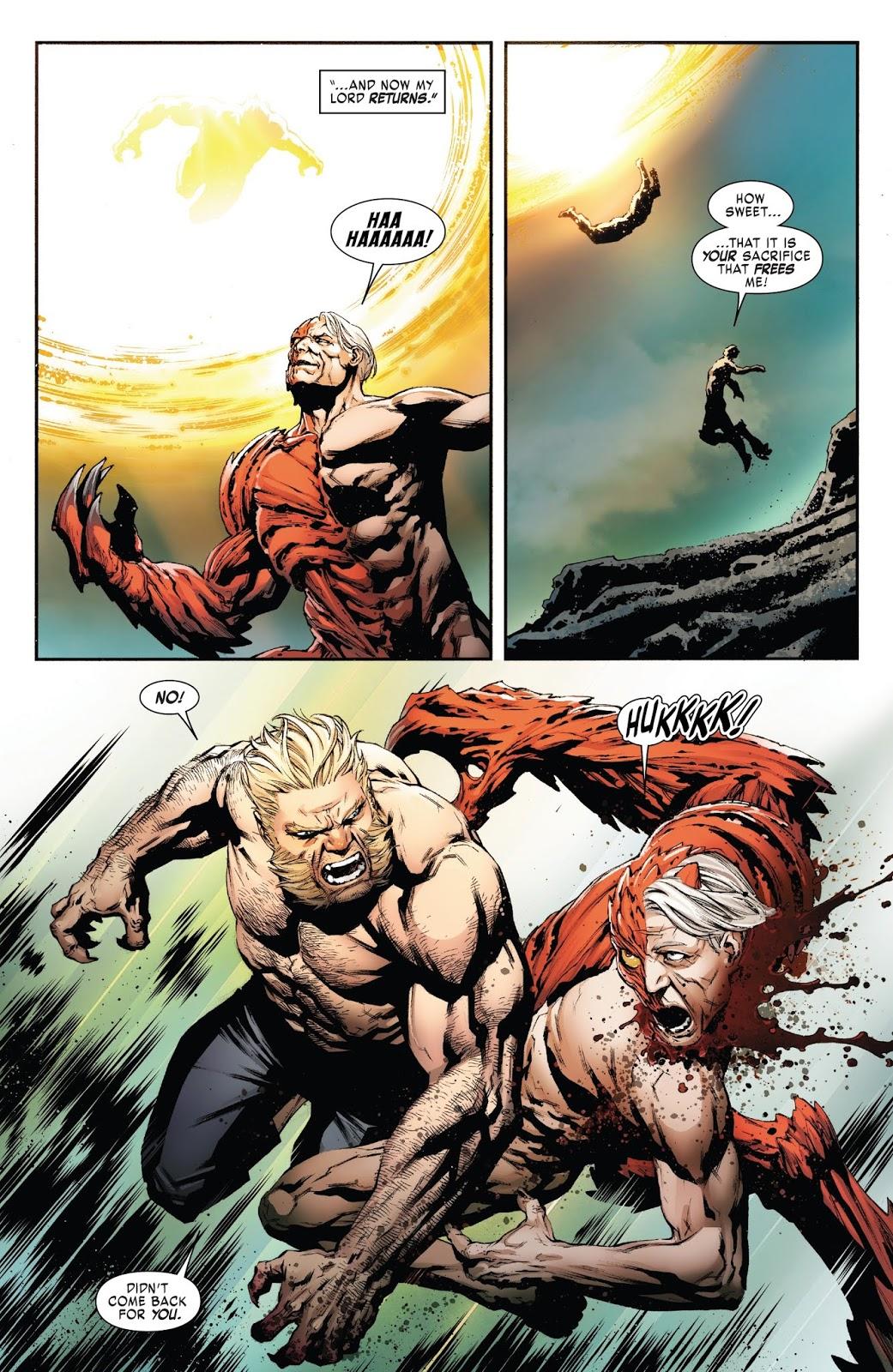 Sabretooth Becomes A Savage Again
