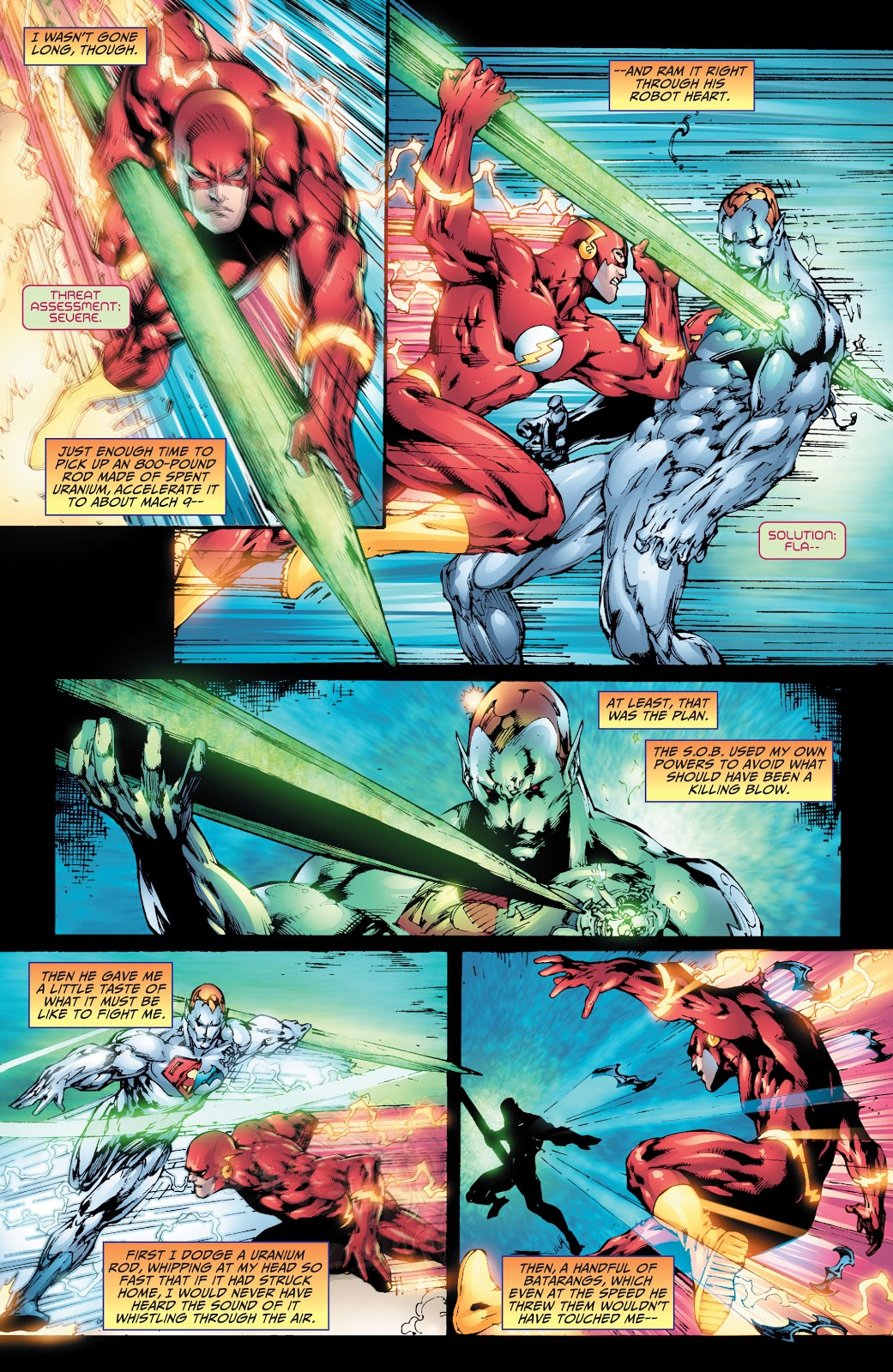 Superman And The Flash VS Amazo
