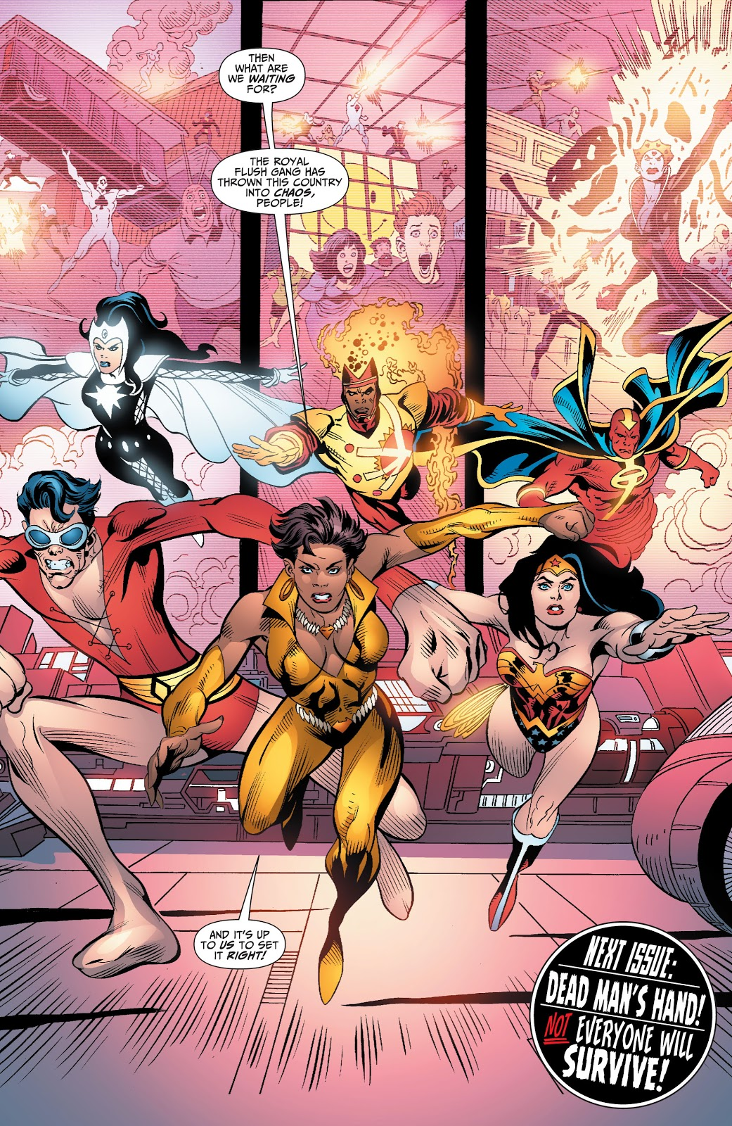 Vixen As Leader Of The Justice League