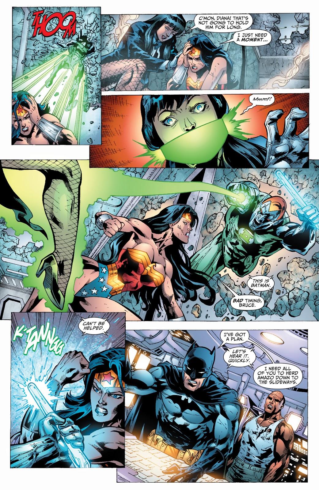 Wonder Woman VS Amazo (Justice League of America Vol. 2 #24)