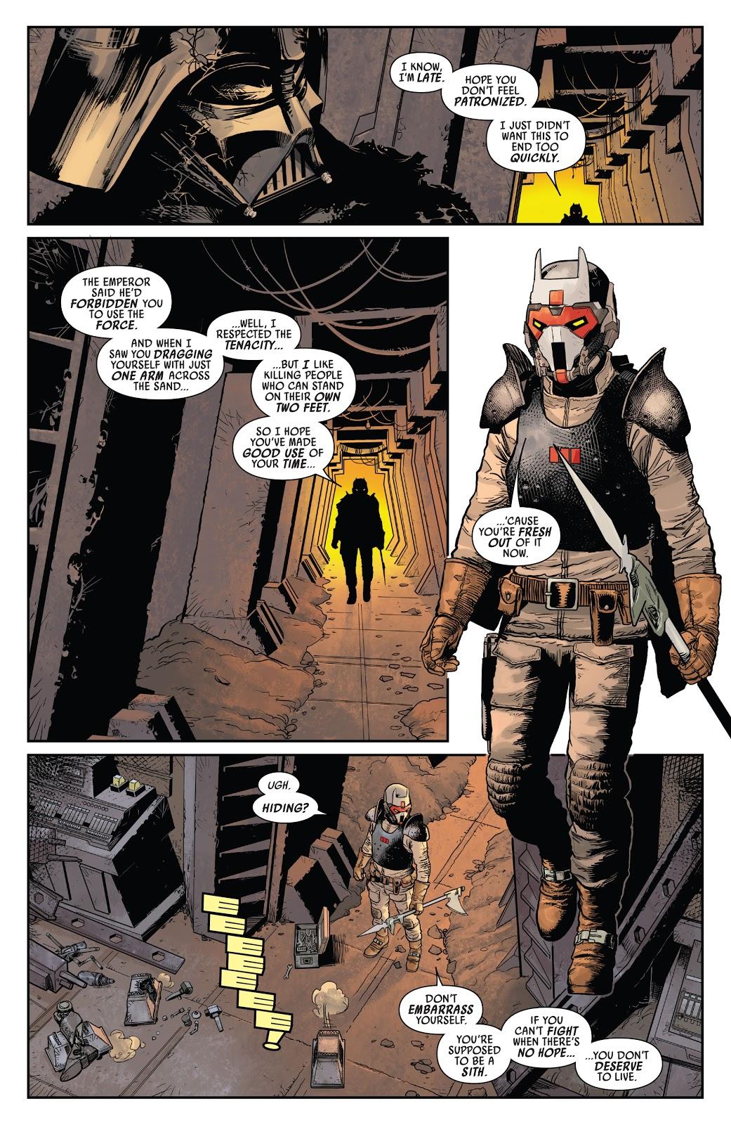 Darth Vader Meets Ochi Of Bestoon