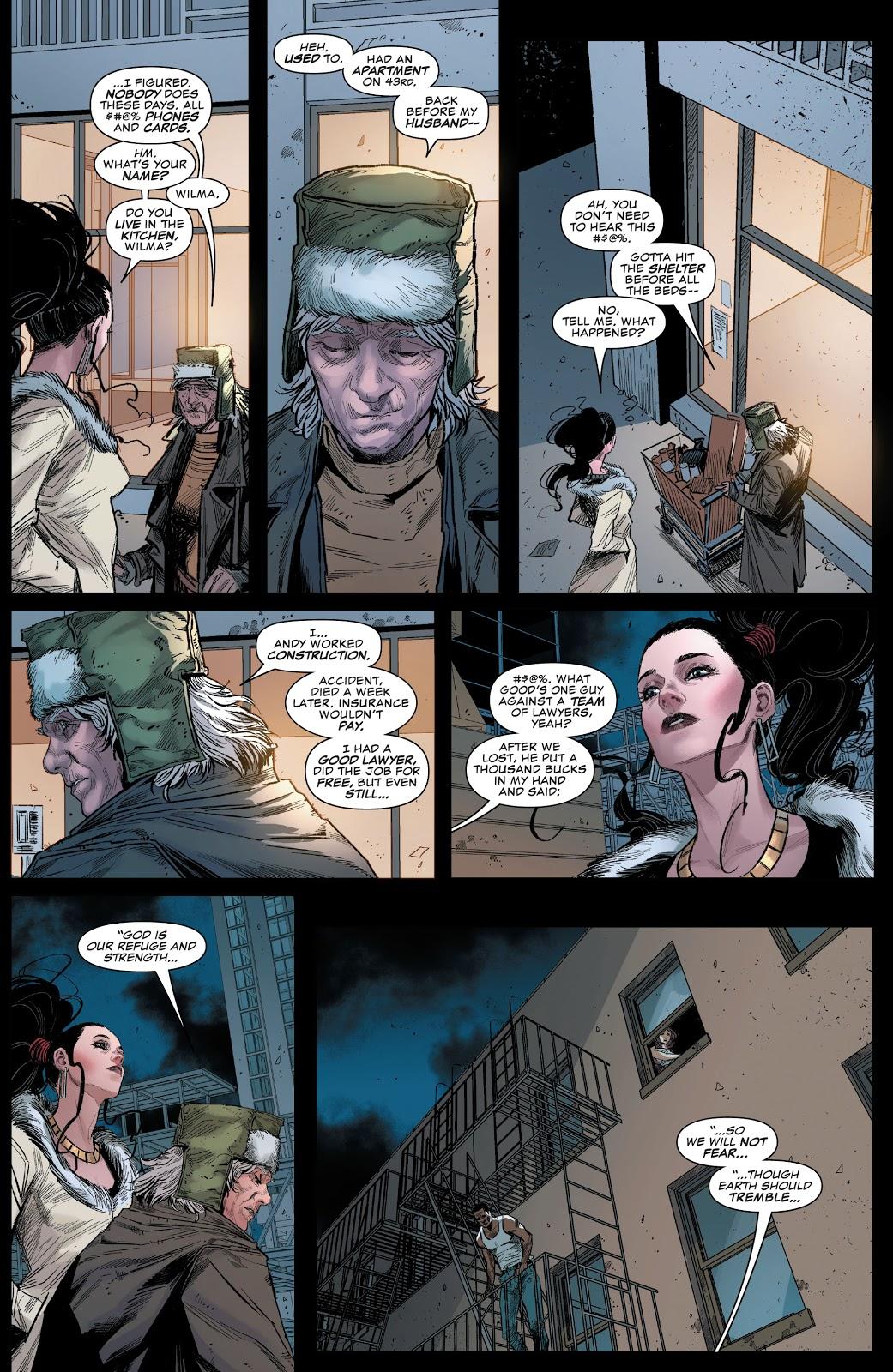 Elektra Becomes Daredevil