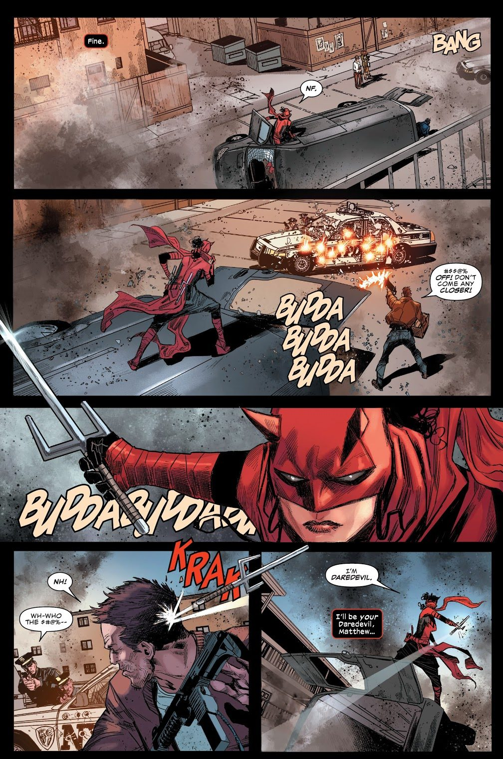Elektra Becomes Daredevil