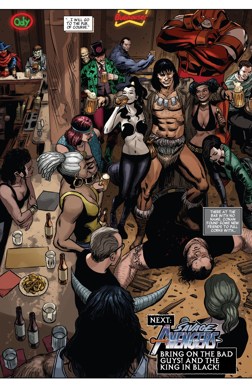 Conan The Barbarian (Savage Avengers #16)