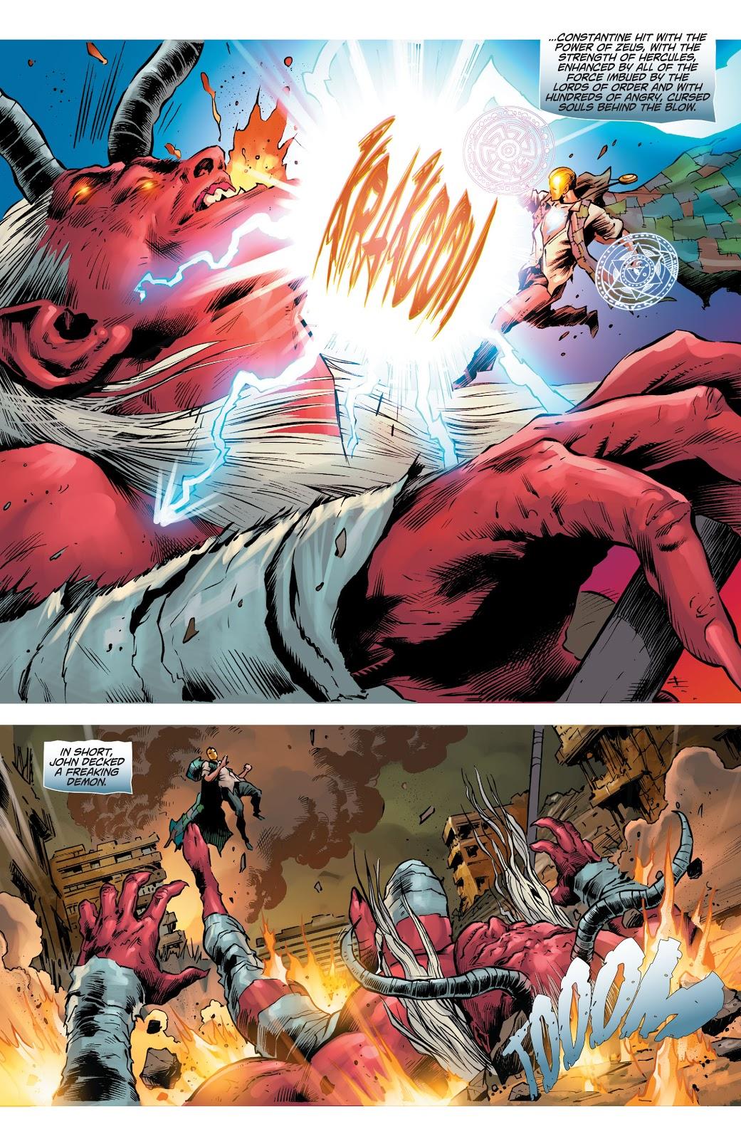 John Constantine Kills Trigon (DCeased)