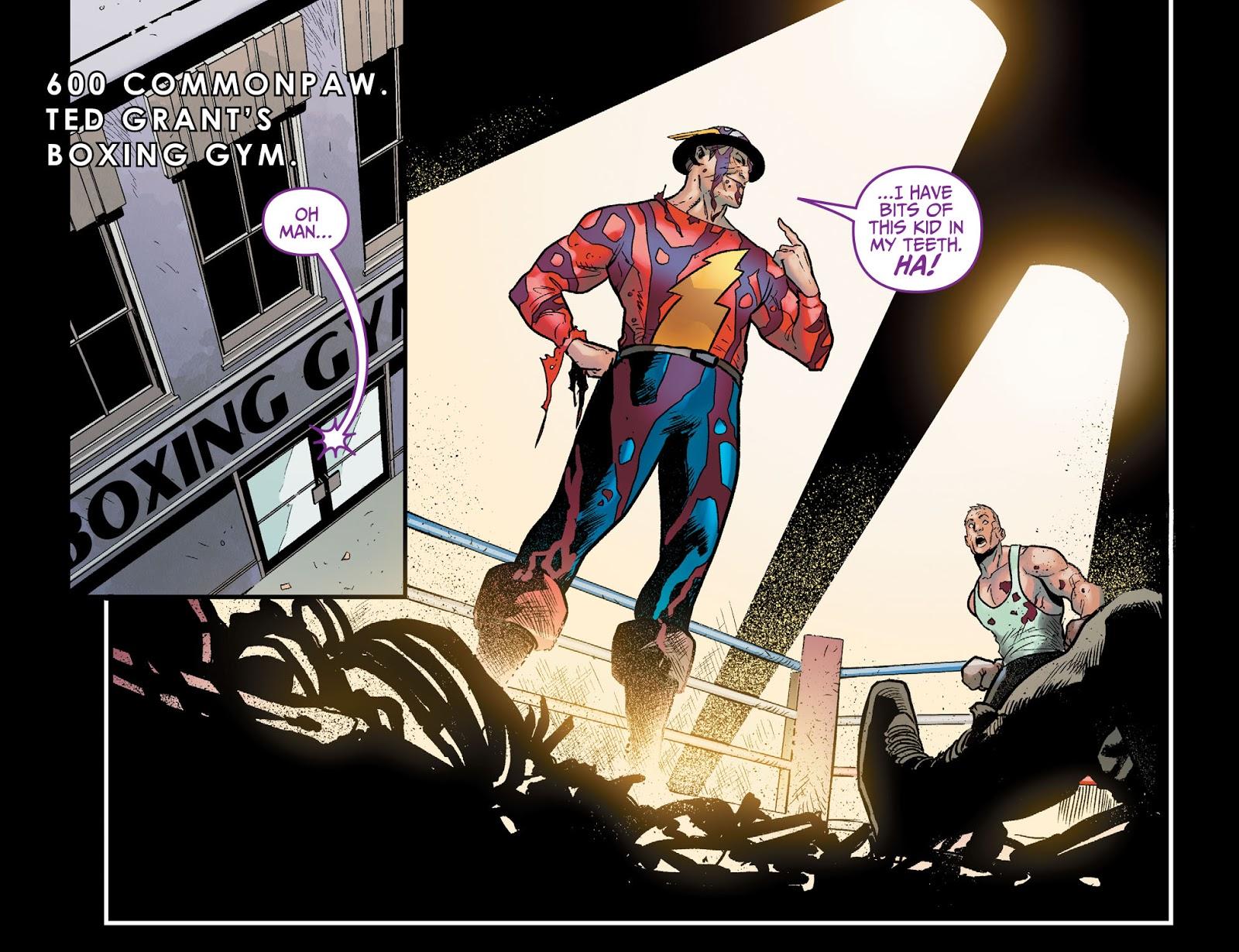 Joker-Jay Garrick VS Wildcat (Injustice Gods Among Us)
