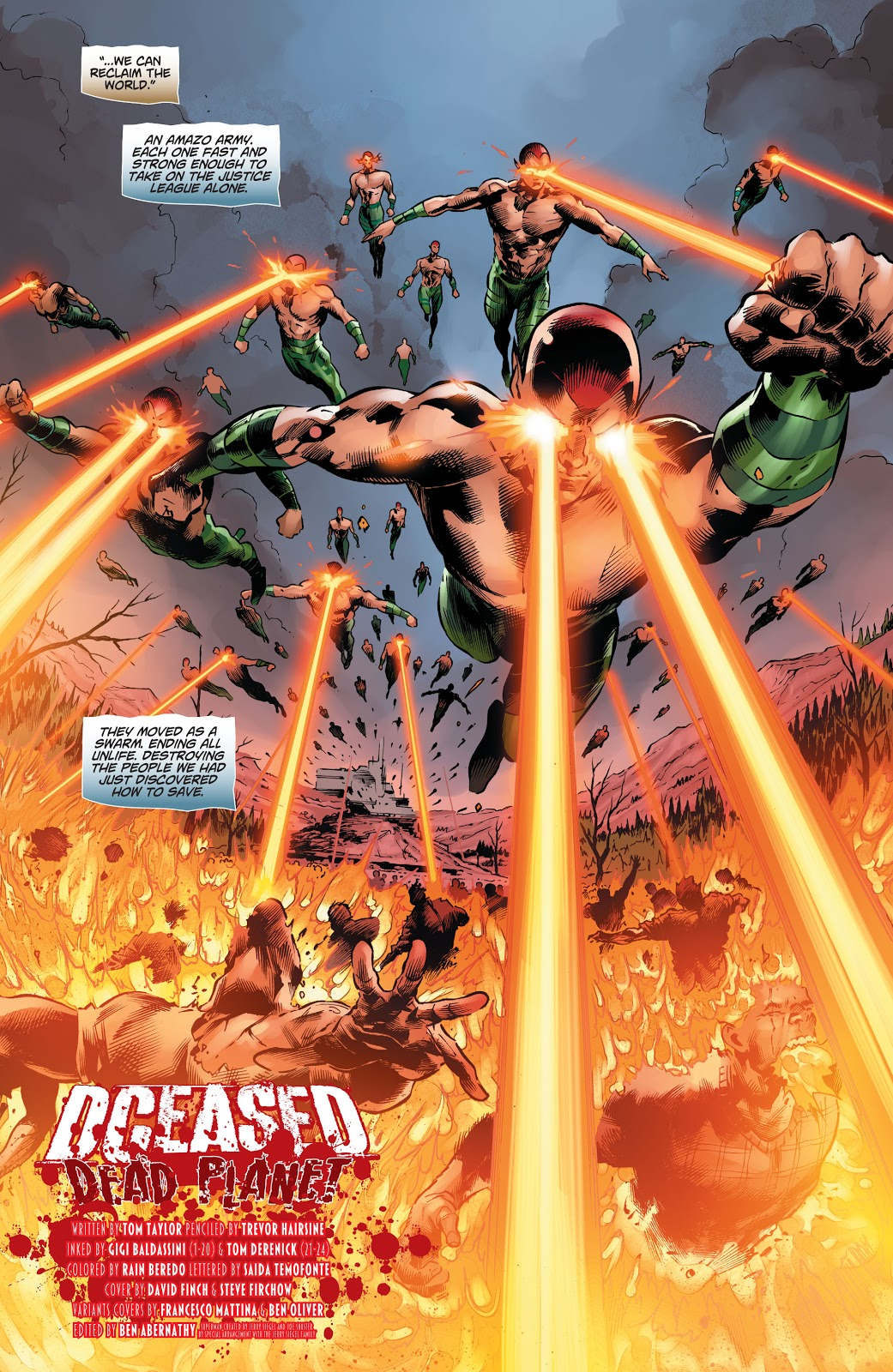 The Penguin's Army Of Amazo's (DCeased)