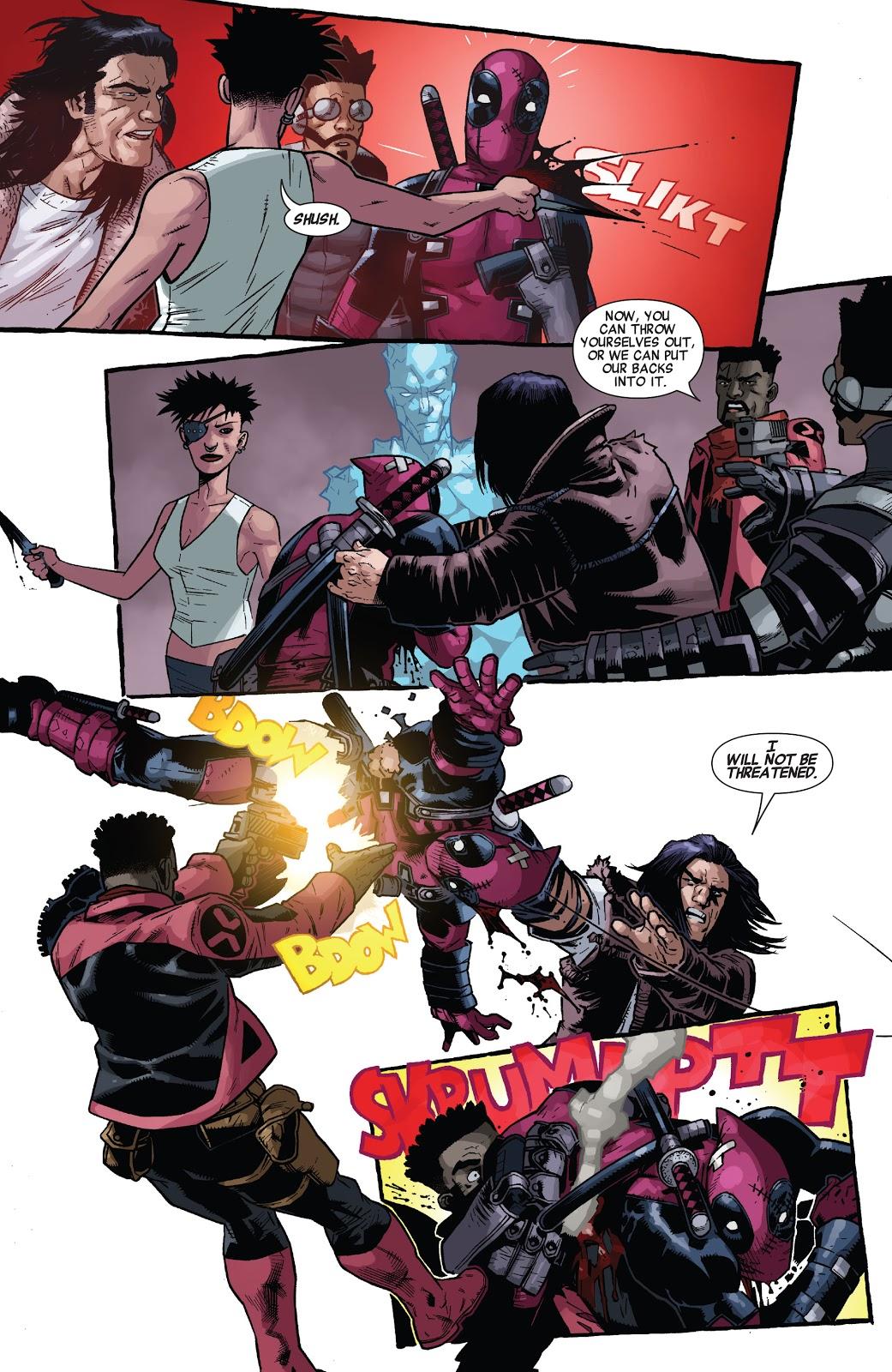 Conan The Barbarian And Deadpool VS Iceman, Calisto and Bishop