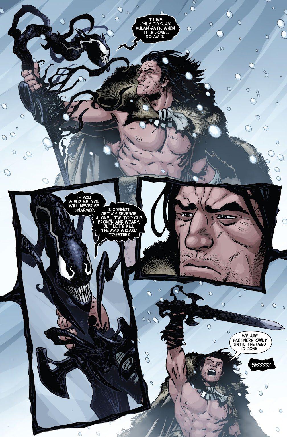 Conan The Barbarian's Symbiote