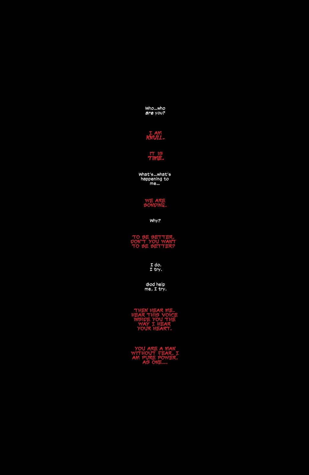 Daredevil Bonds With A Symbiote