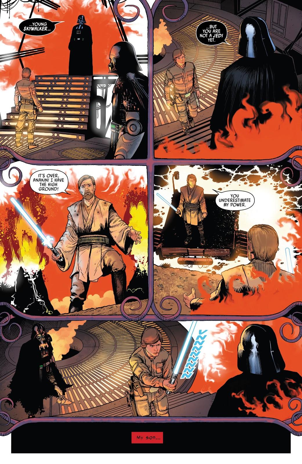 Darth Vader Has A Vision Of His Death