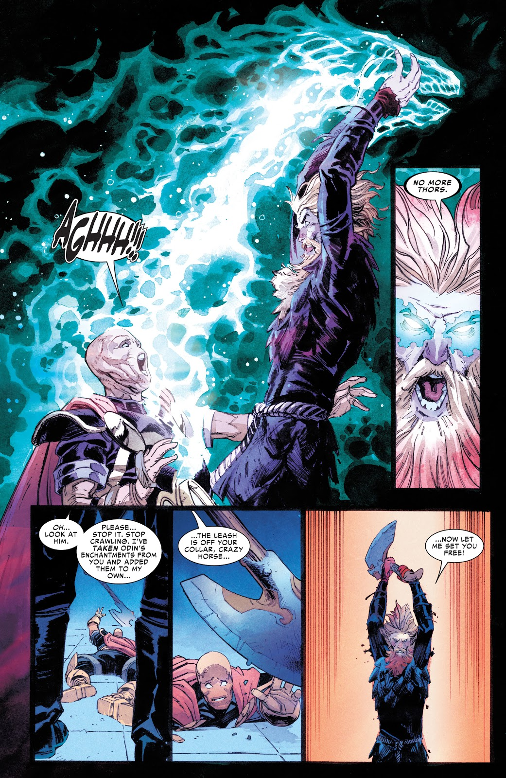 Donald Blake Defeats The Entire Asgardian Army