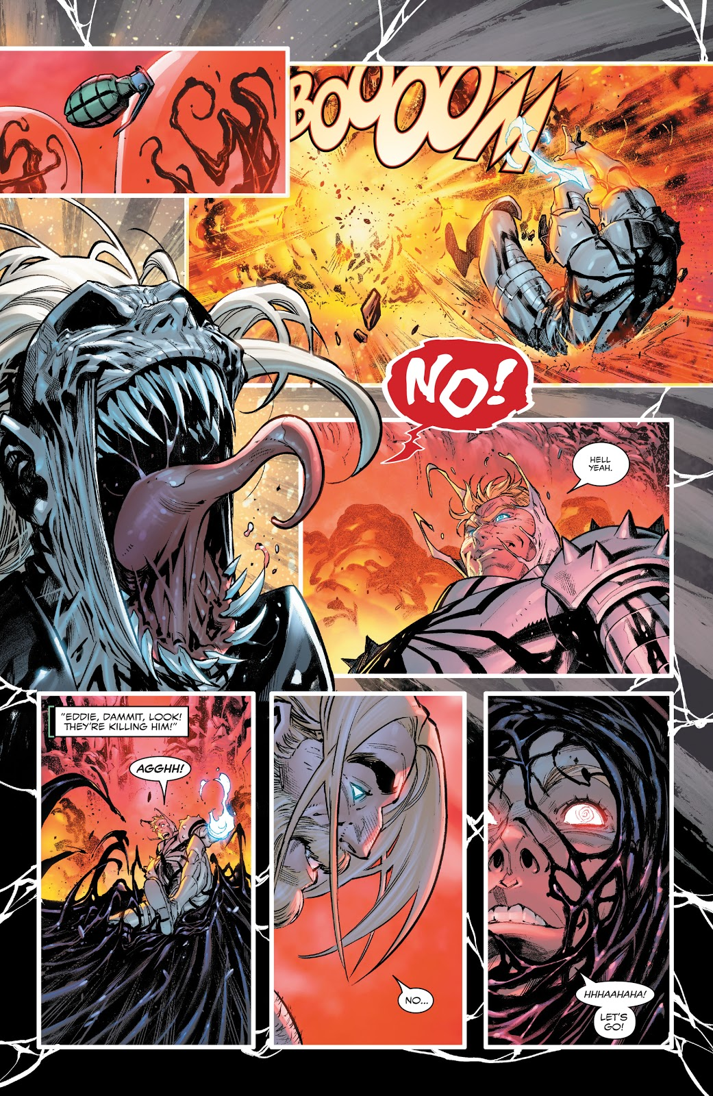 Flash Thompson Becomes A Symbiote Dragon