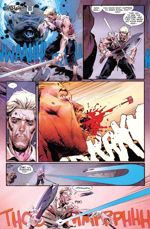 Throg And Lockjaw VS Donald Blake