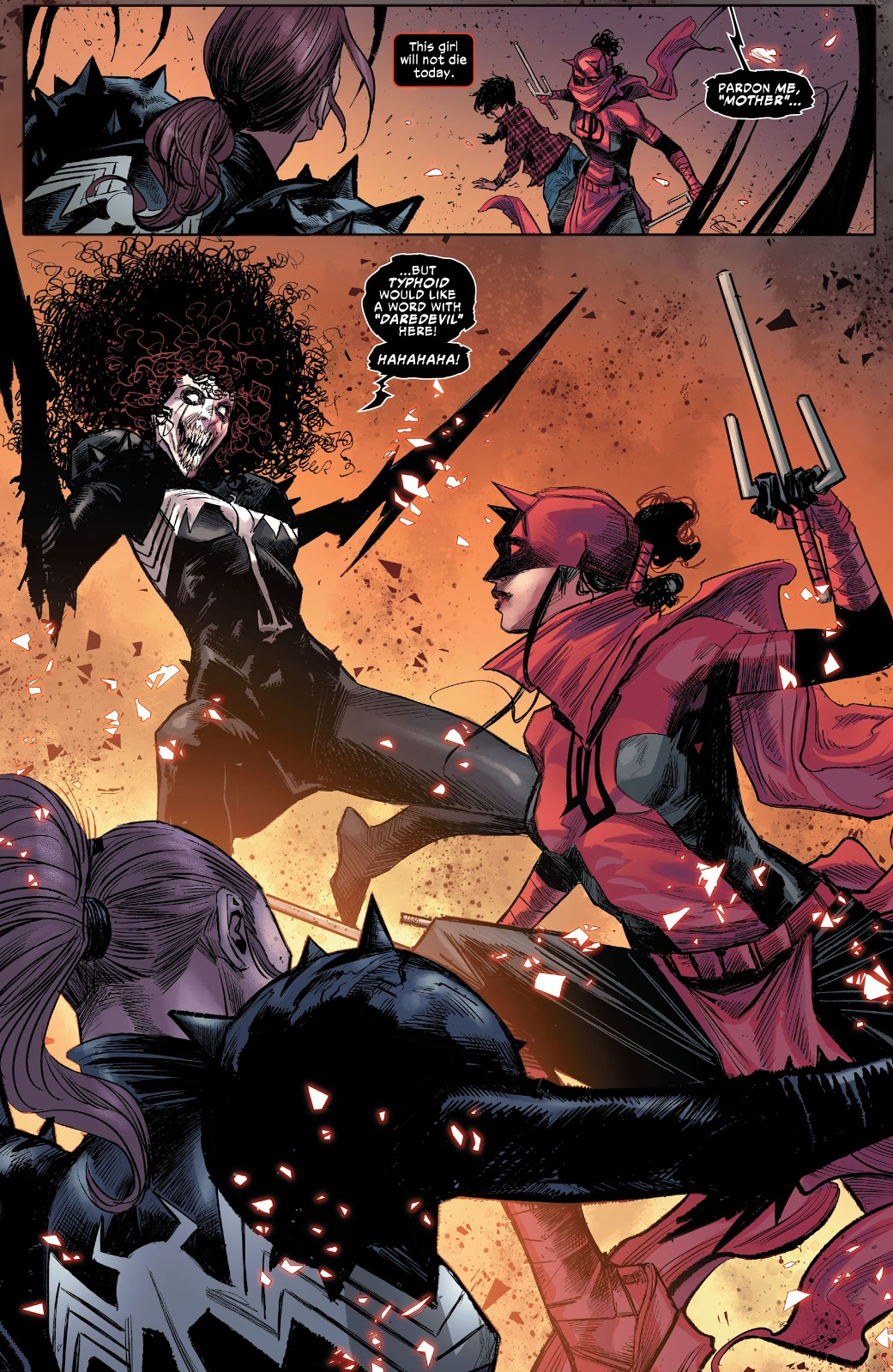Typhoid Mary Bonds With A Symbiote
