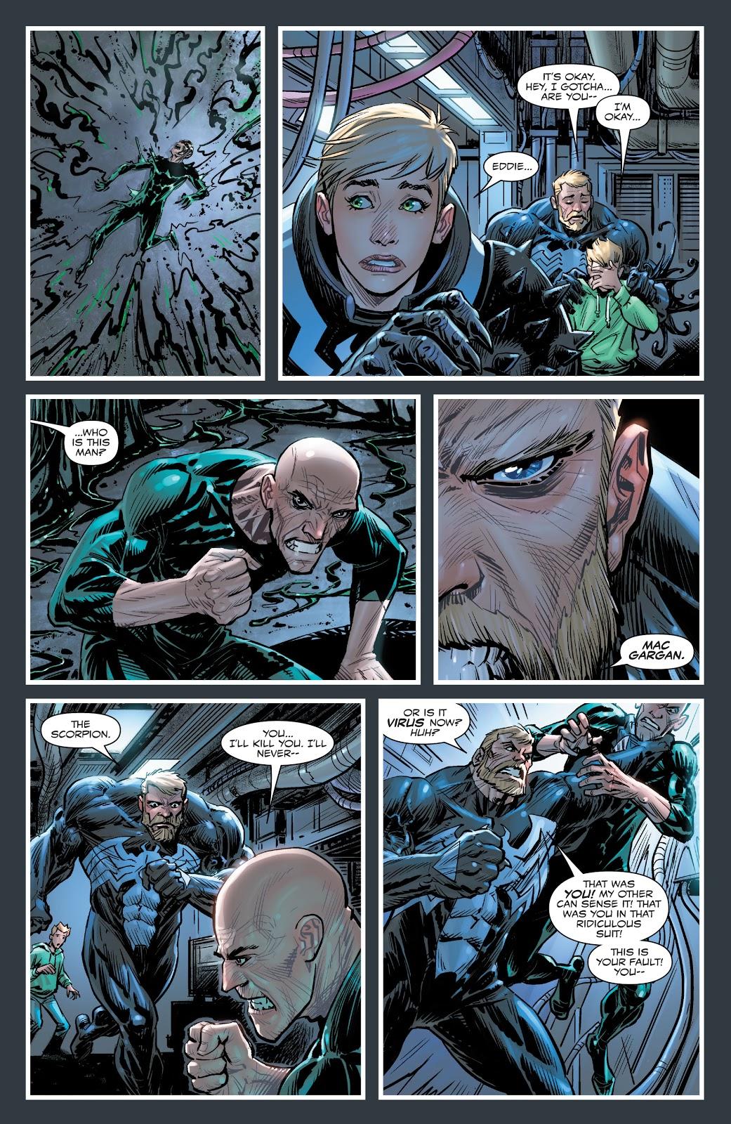 Venom And Dylan Brock VS The Scorpion Symbiote