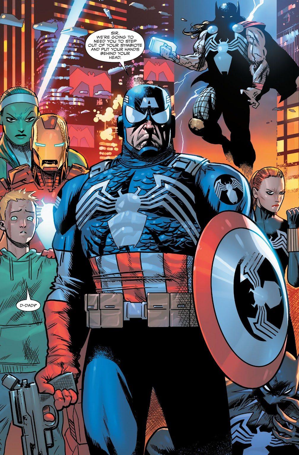 Venom Avengers