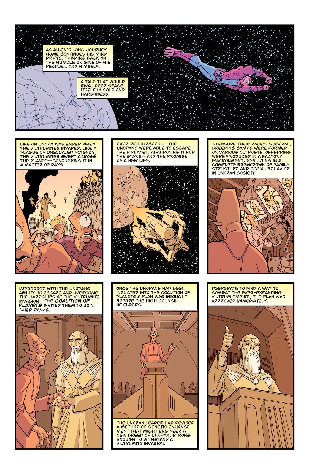 Allen The Alien's Origin Story