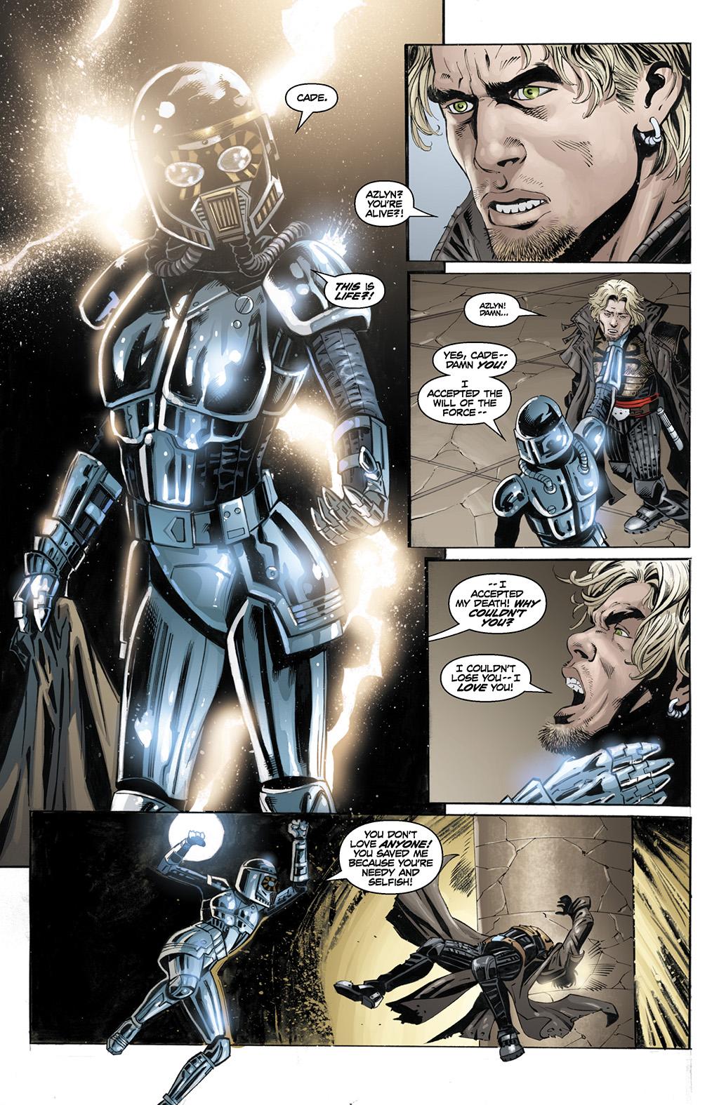 Azlyn Rae In A Darth Vader Armor