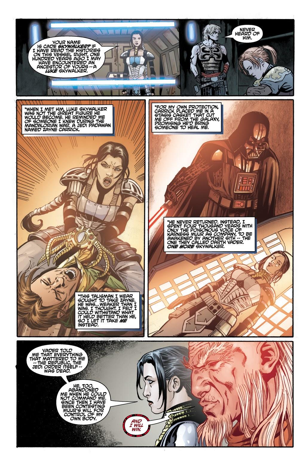Cade Skywalker Force Heals From Rakghoul Plague