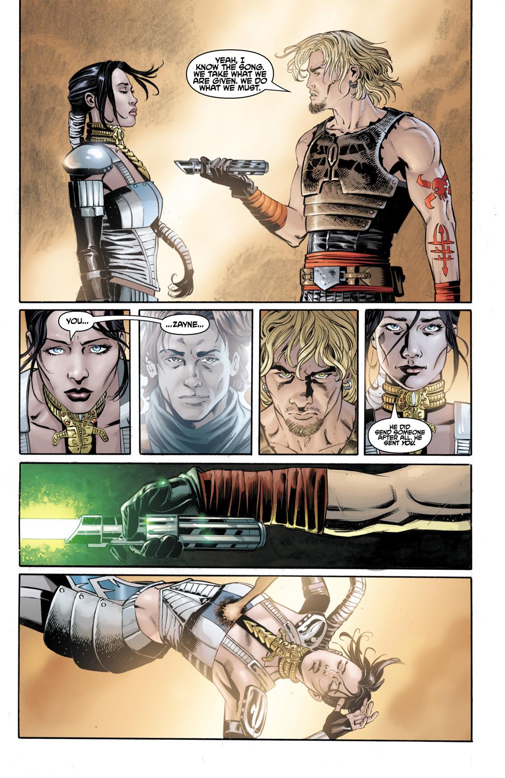 Cade Skywalker Kills Celeste Morne