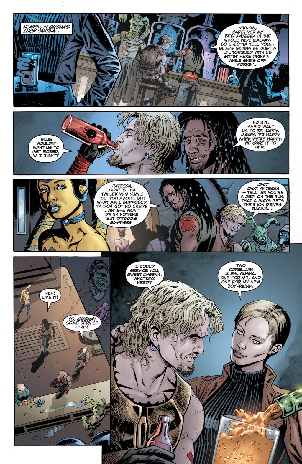 Cade Skywalker Meets His Half Sister Gunner Yage