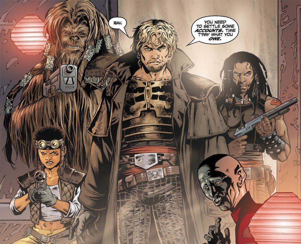 Cade Skywalker (Star Wars: Legacy #23)