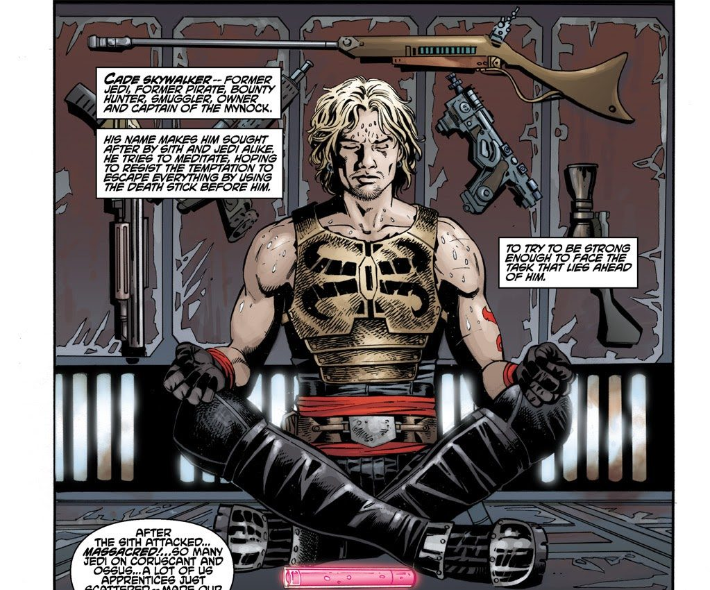 Cade Skywalker (Star Wars: Legacy #28)