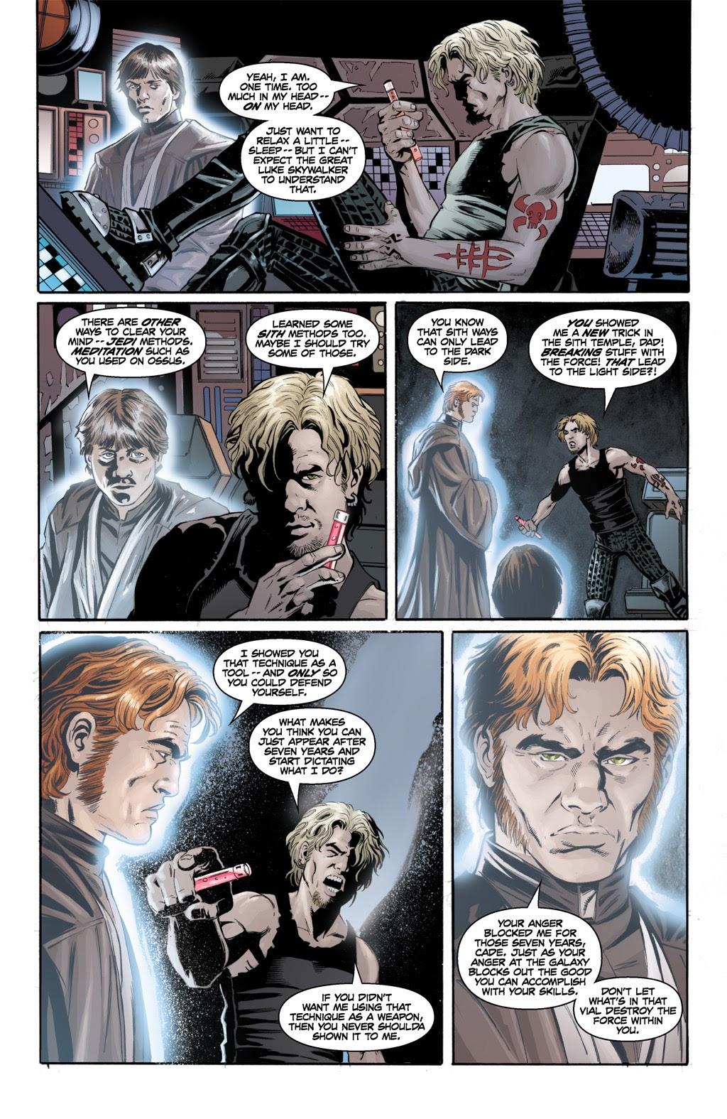 Cade Skywalker Using Death Sticks