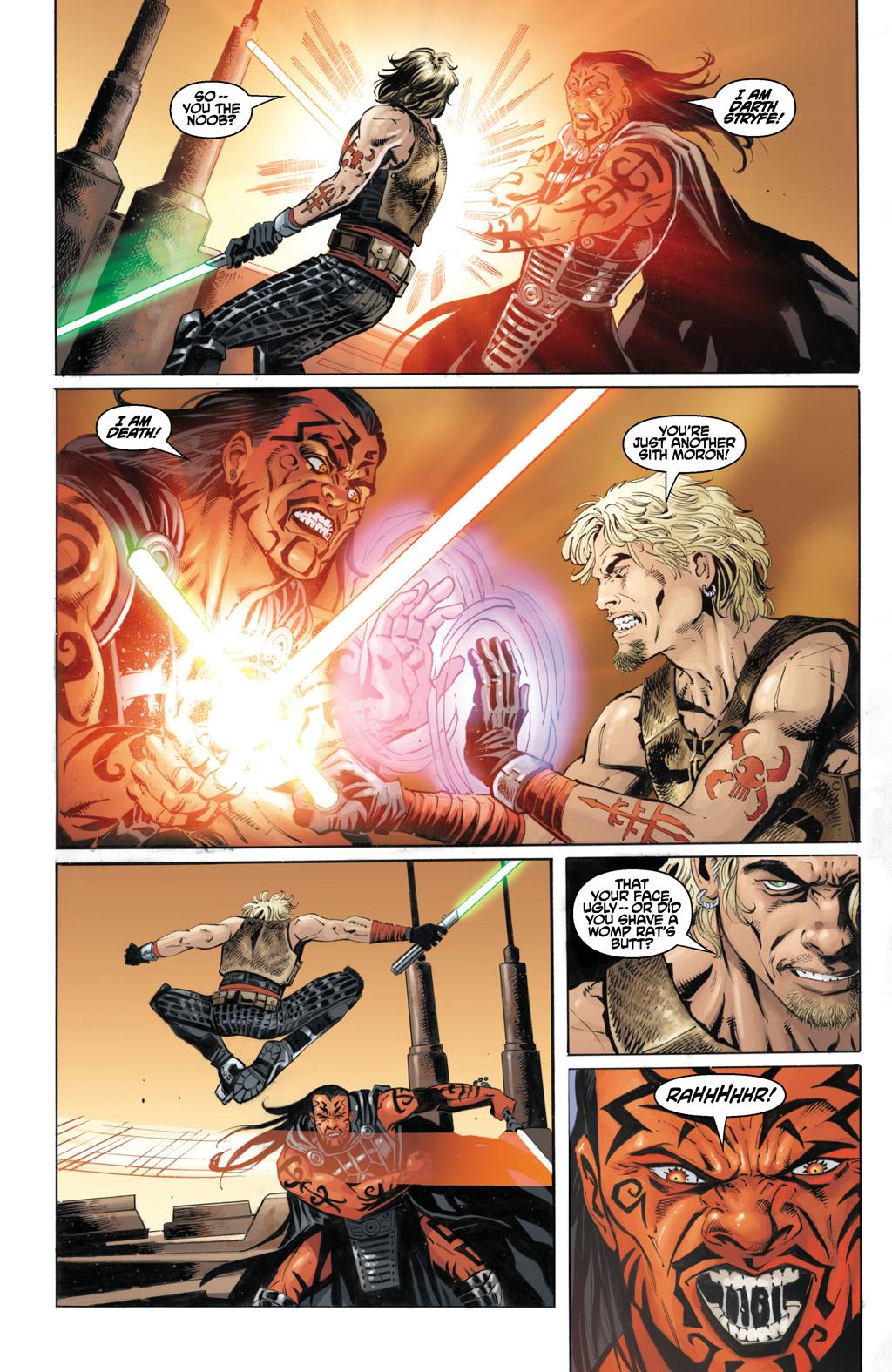 Cade Skywalker VS Darth Stryfe