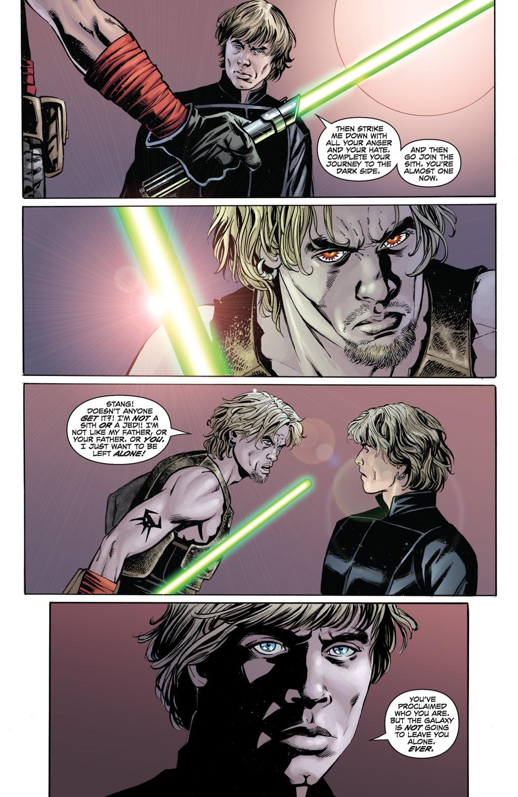 Cade Skywalker VS Luke Skywalker