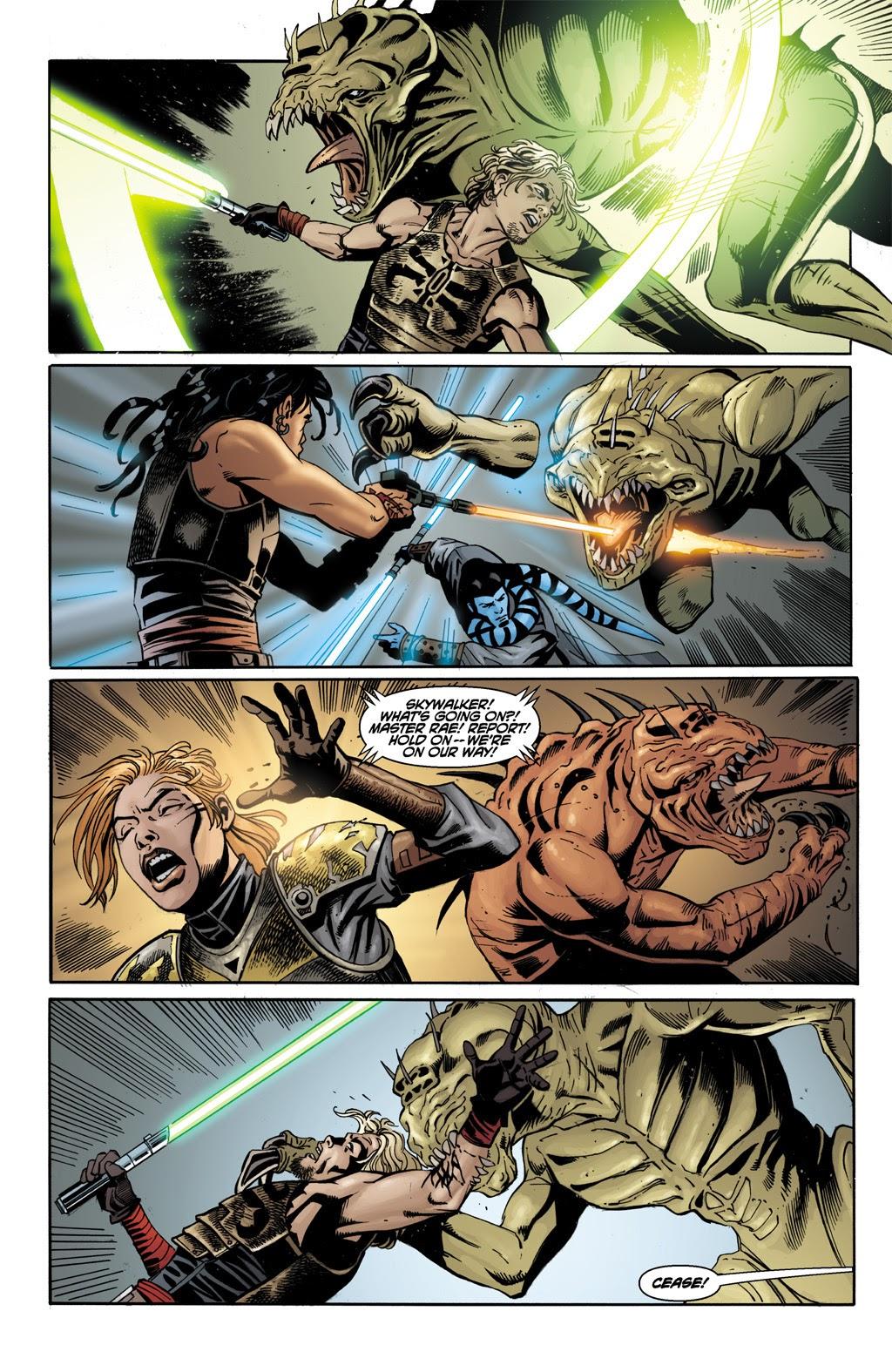 Cade Skywalker VS Rakghouls