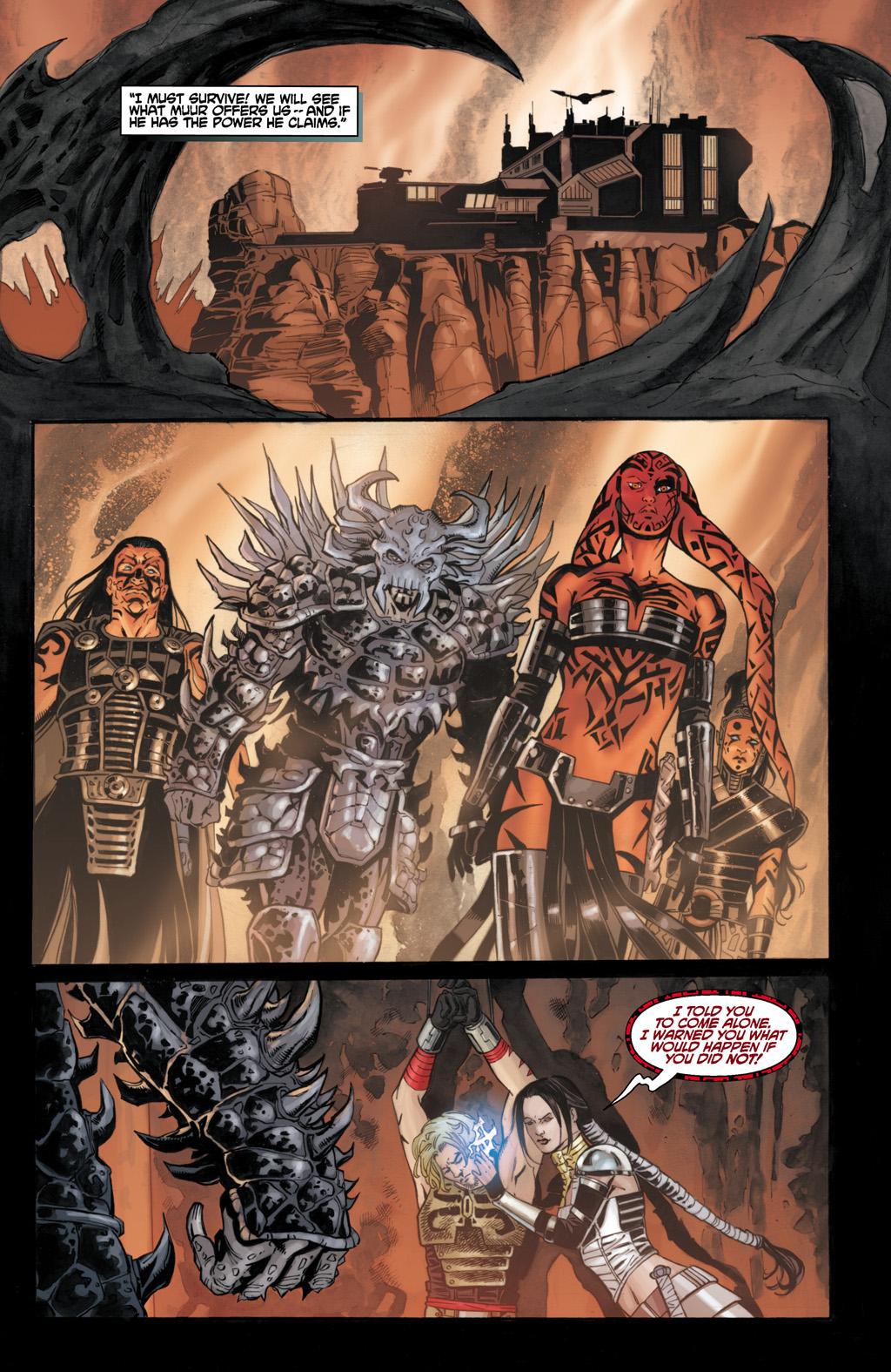 Darth Krayt Meets Karness Muur