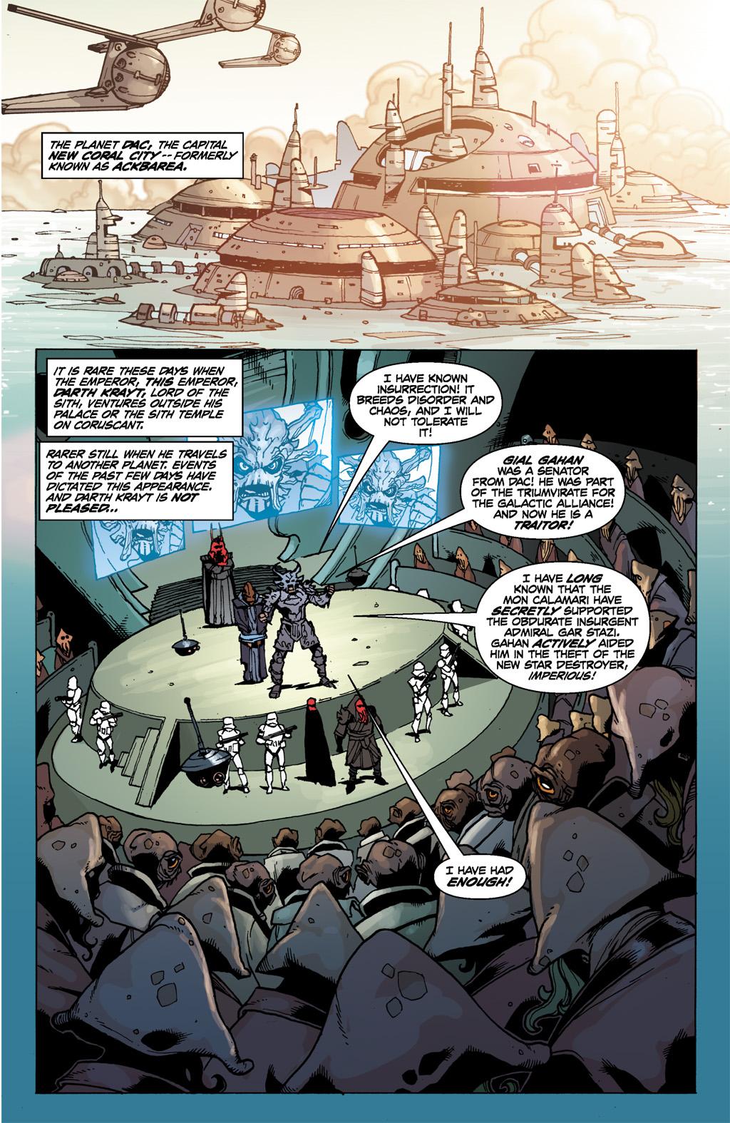 Darth Krayt Orders The Mon Calamari Genocide