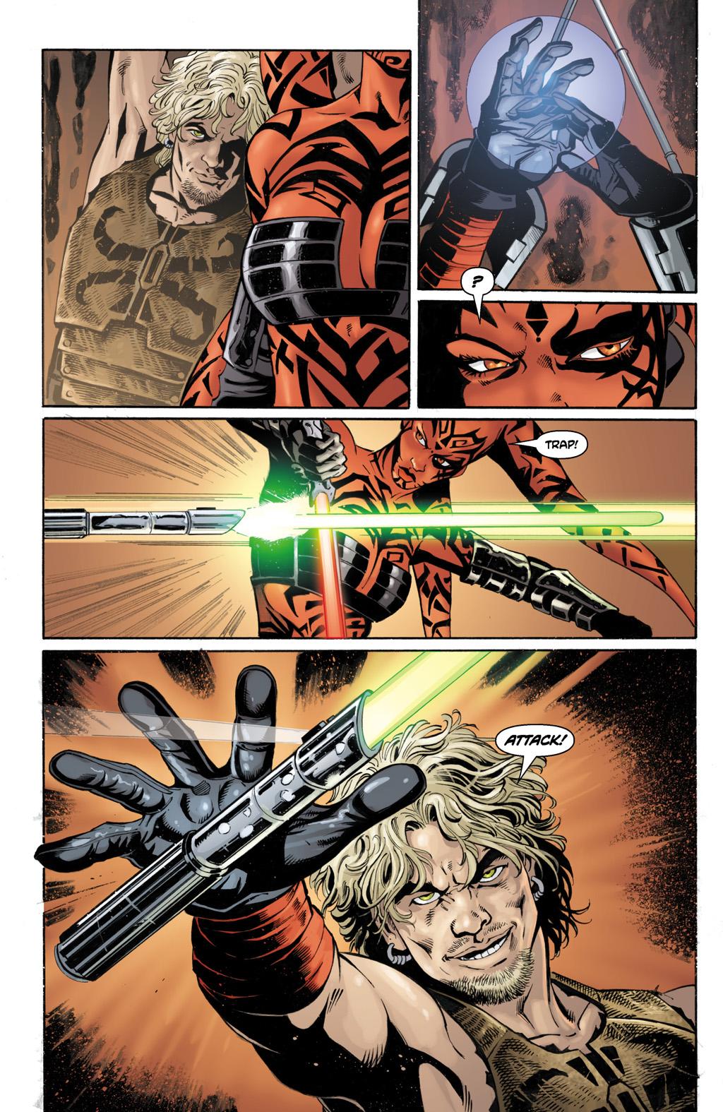 Darth Talon VS Cade Skywalker