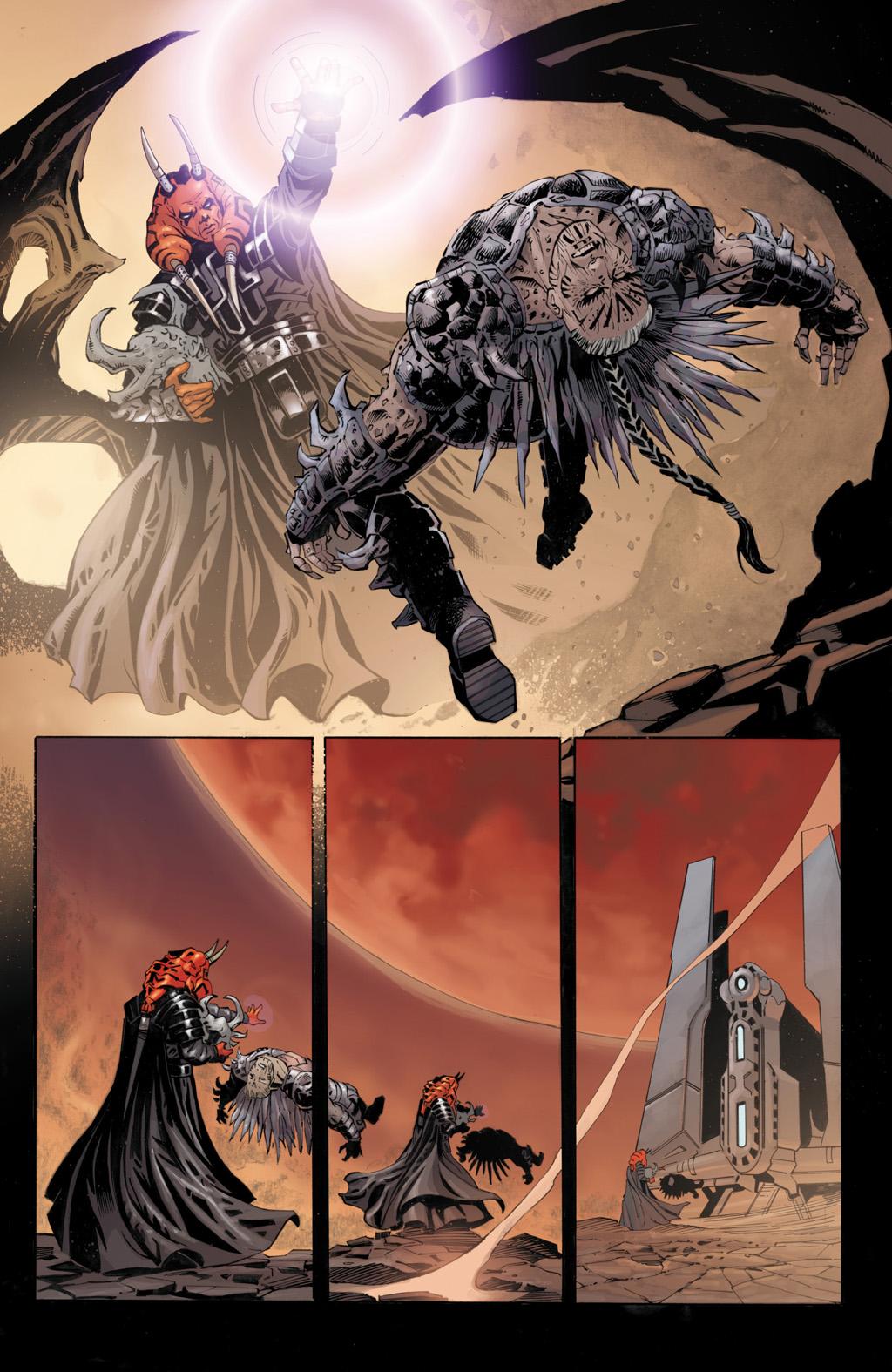 Darth Wyyrlock III Betrays Darth Krayt