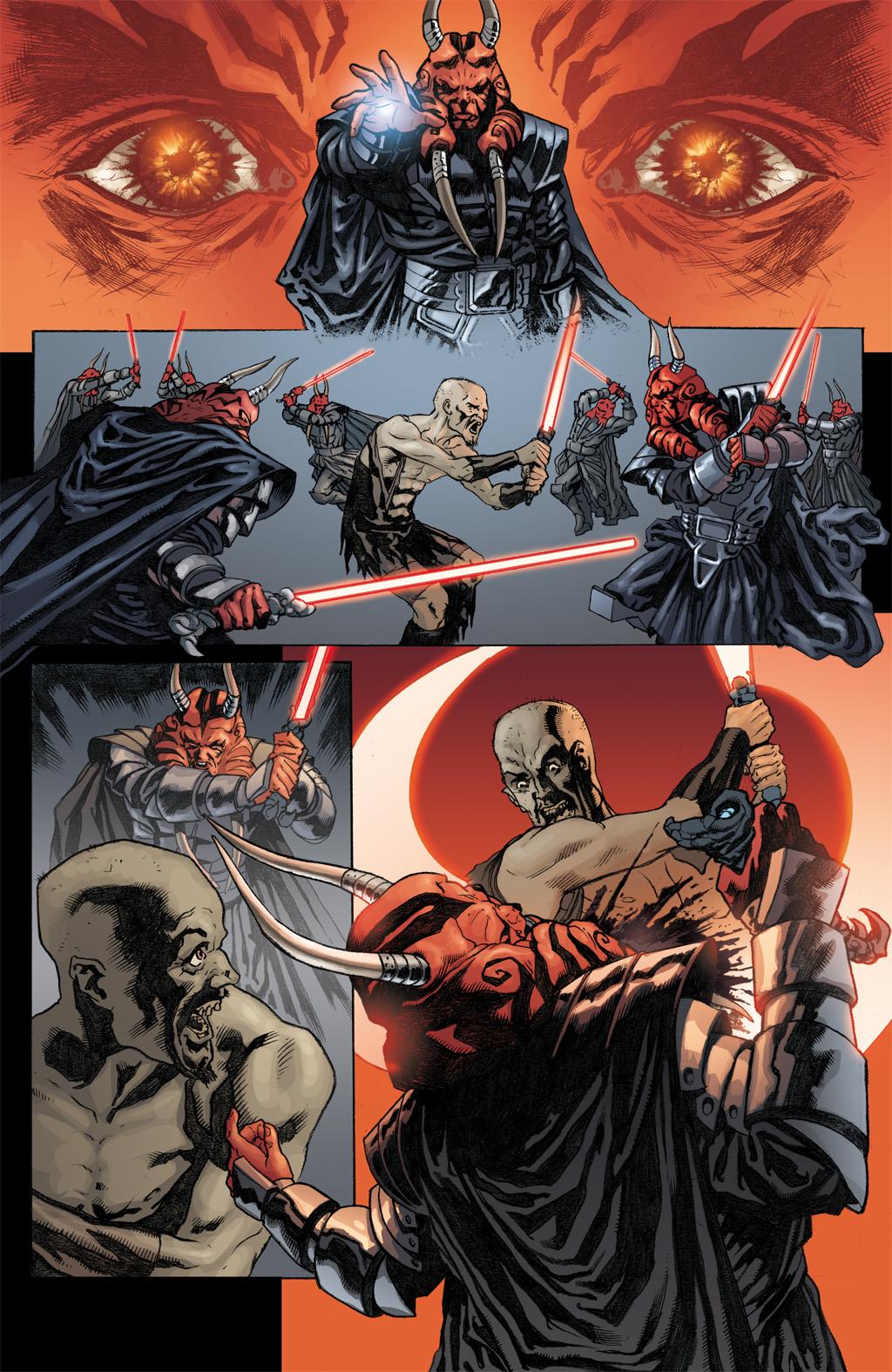 Darth Wyyrlok III VS Dark Side Cult