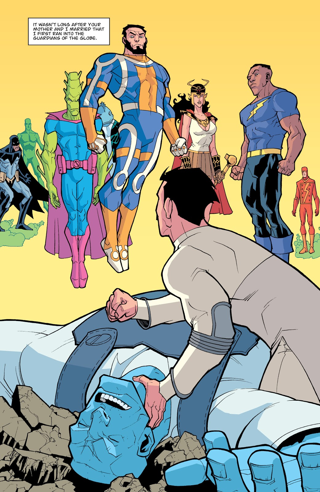 Guardians Of The Globe (Invincible #11)