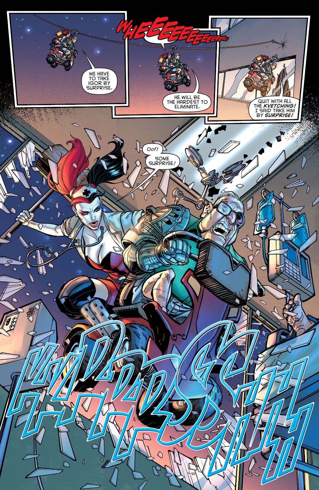 Harley Quinn And Syborgman