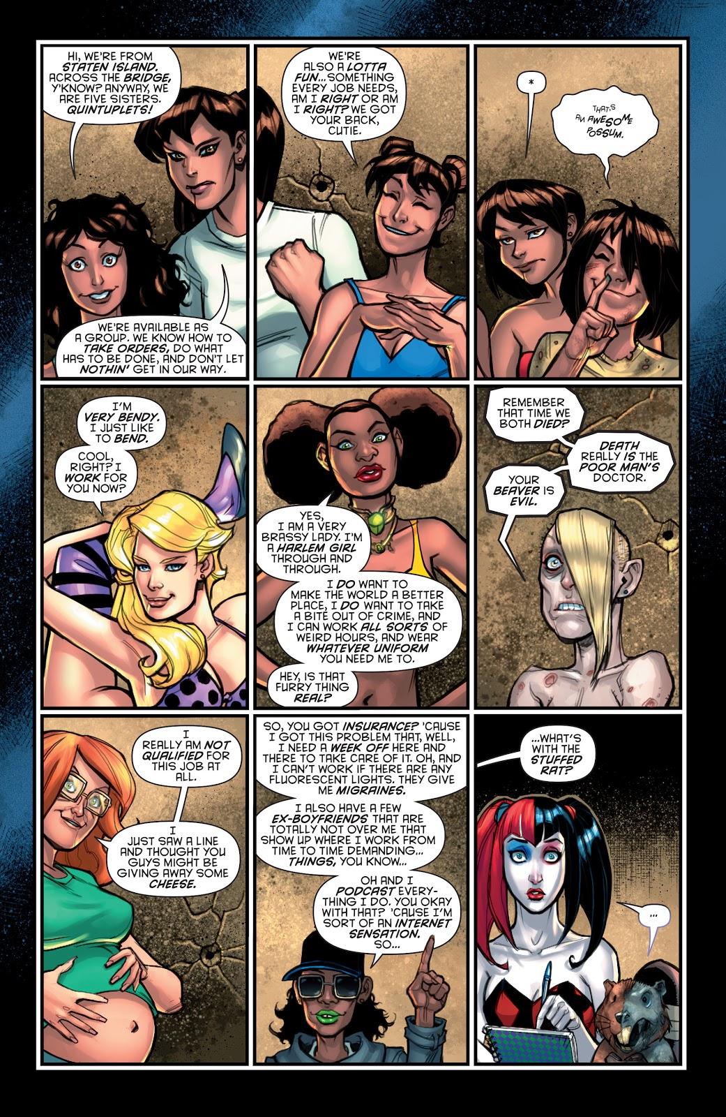 Harley Quinn Forms The Gang Of Harleys