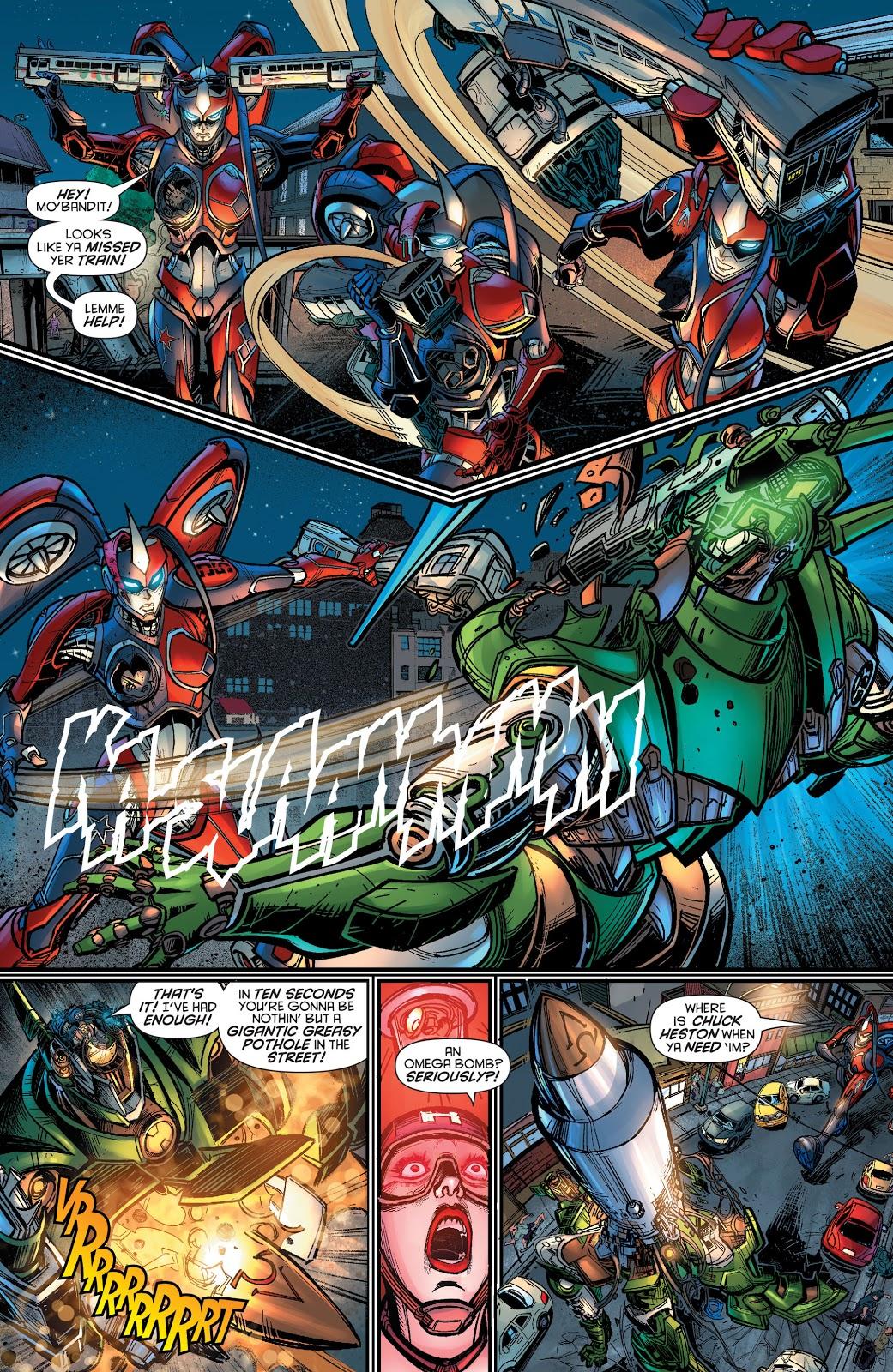 Harley Quinn Has A Giant Robot