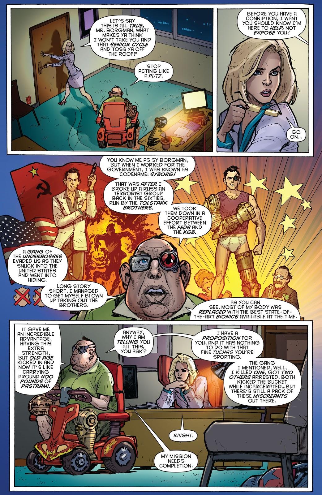 Harley Quinn Meets Sy Borgman