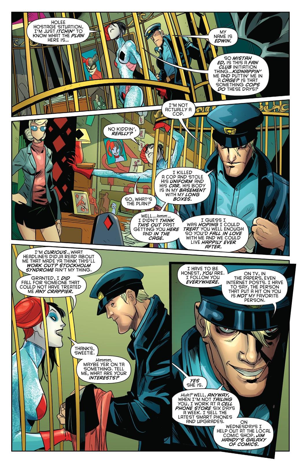 Harley Quinn VS Her Obsessed Stalker