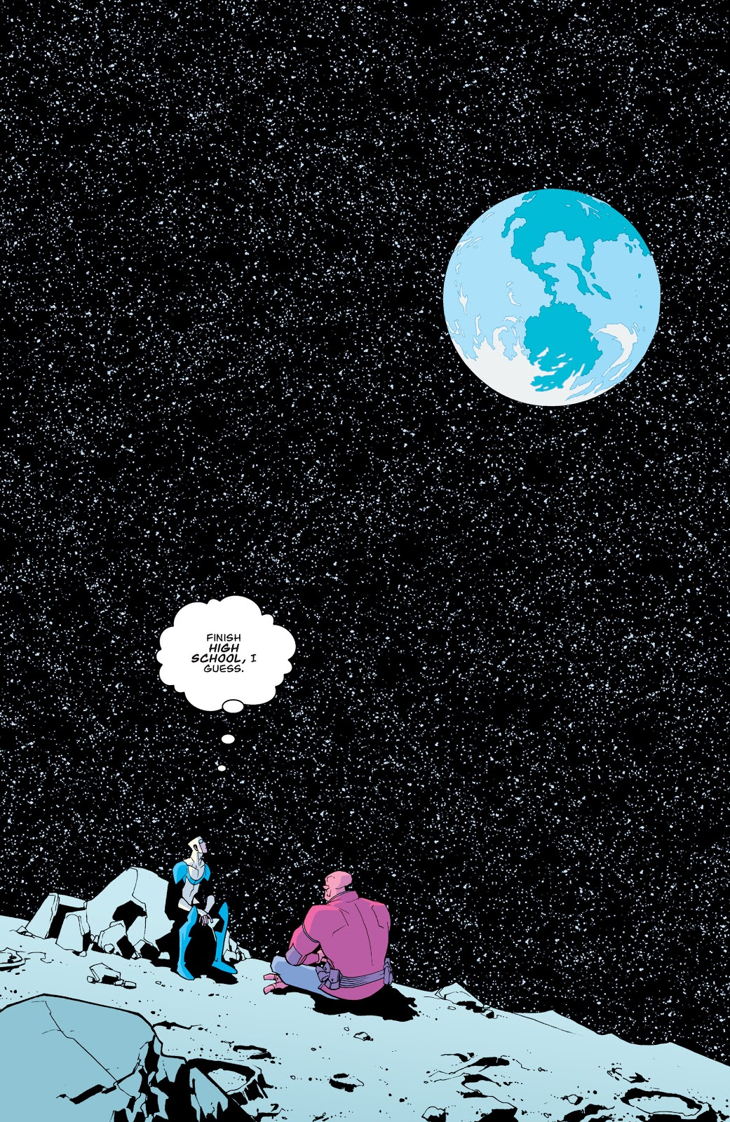 Invincible And Allen The Alien (Invincible #13)
