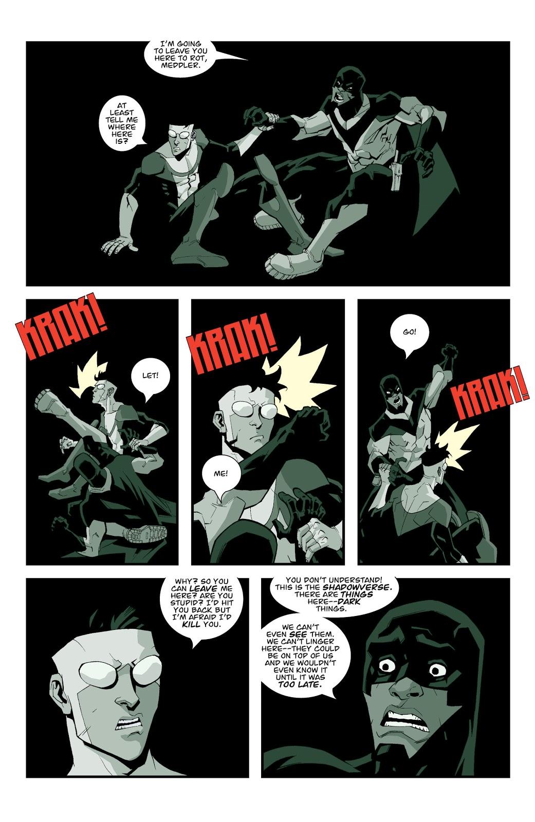 Invincible VS Darkwing