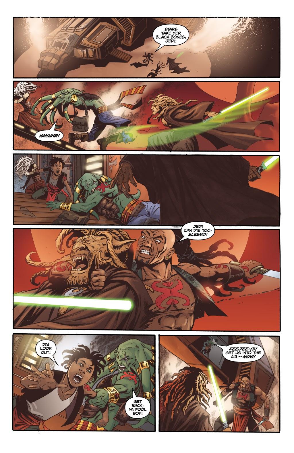 Jedi Master Rasi Tuum VS Jariah Syn