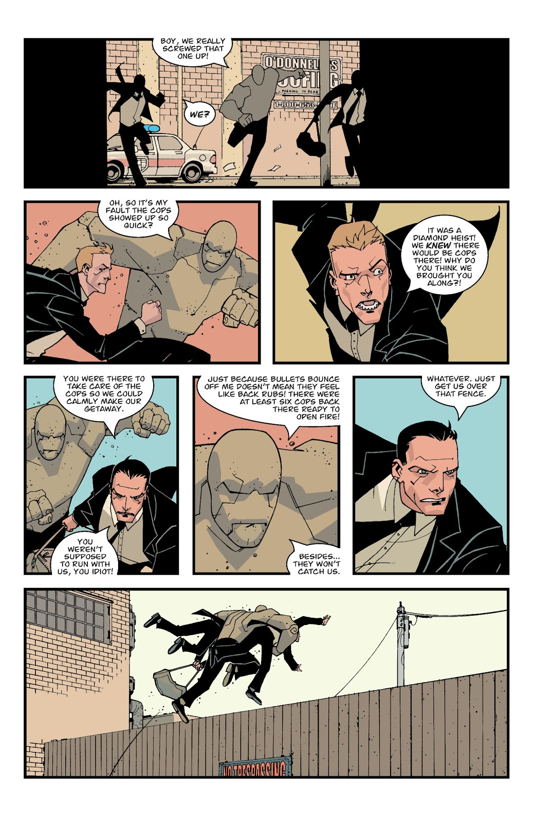 Mark Grayson Stops His First Crime