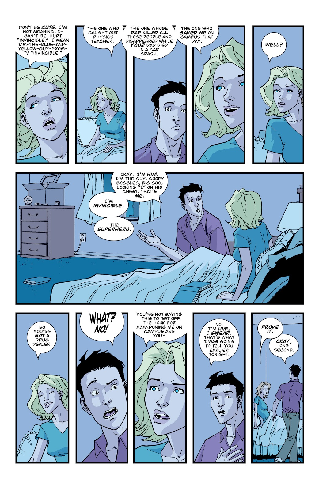 Mark Grayson Tells His Girlfriend He's Invincible